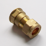 Brass Compression 10mm x 1/4 inch Female - 24411000
